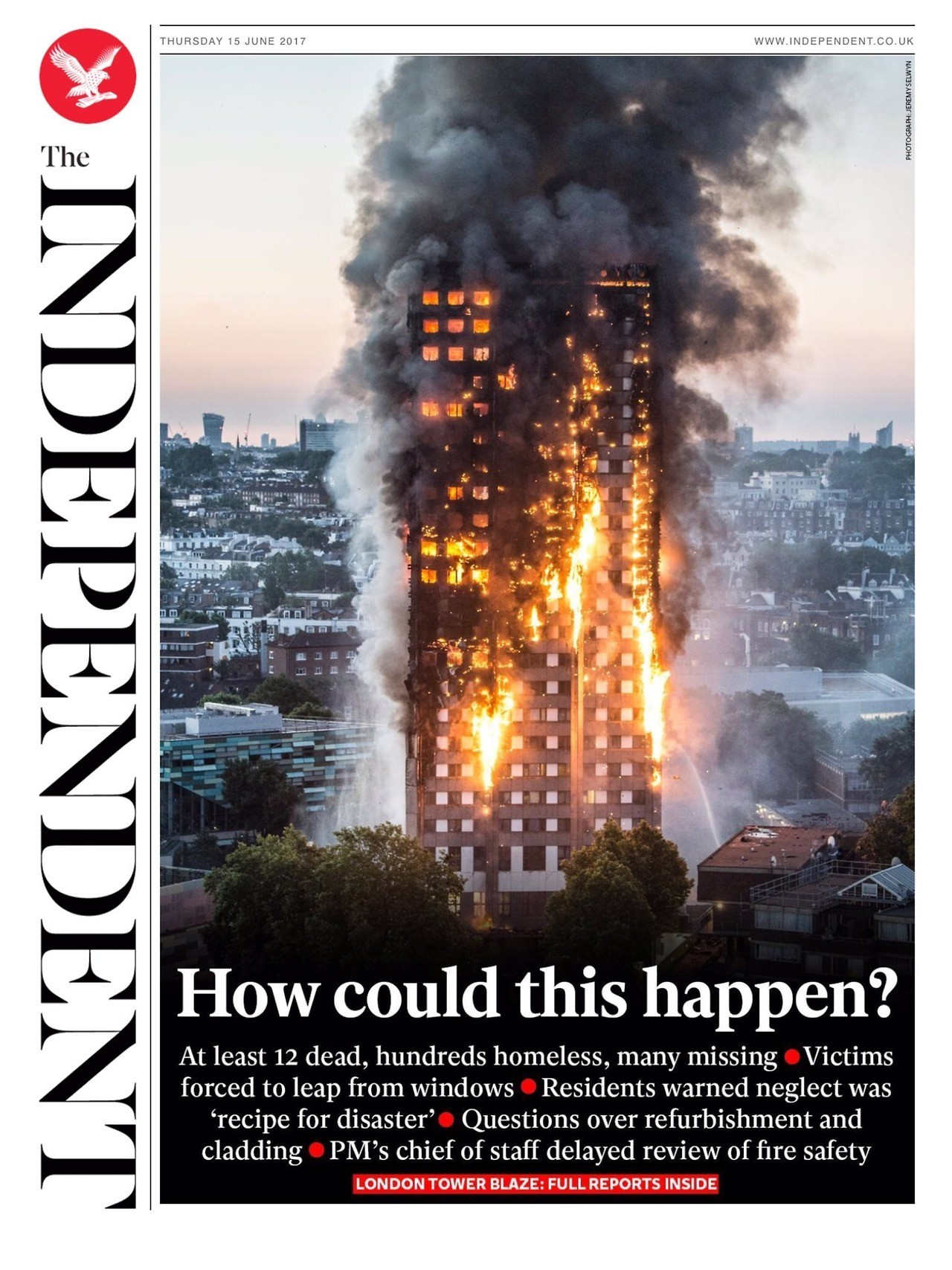 Grenfell Fire and Fallout: A Lesson In Media Framing
